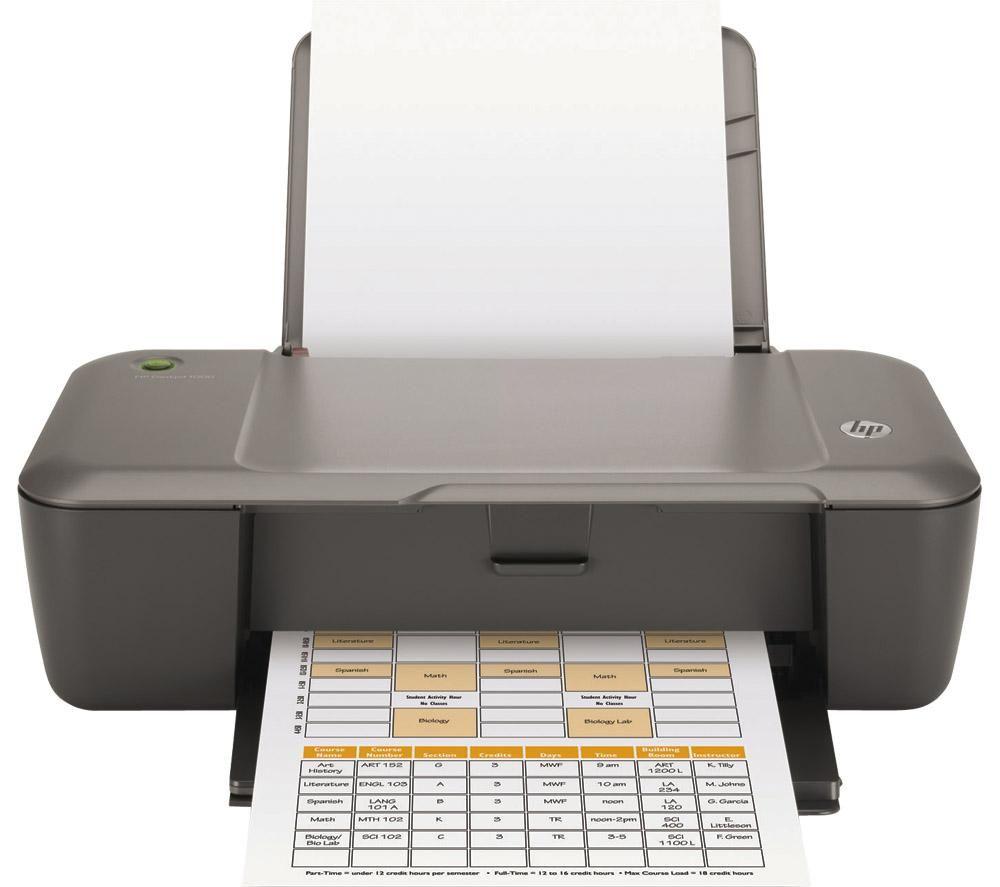 HP Deskjet 1000 nyomtató + orvosi recept - www.jvgtech.hu