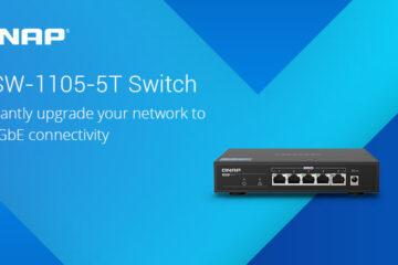 A QNAP bemutatta első 2,5GbE hálózati switch-csét